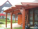 Zahradní domek, pergola